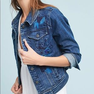 Anthropologie Pilco Sequined Jacket